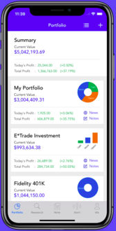 the best free portfolio trackers for 2018 benzinga