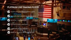 What Platinum Trading Academy offers from its Live Trading Floor. Source: PlatinumTradingAcademy.com