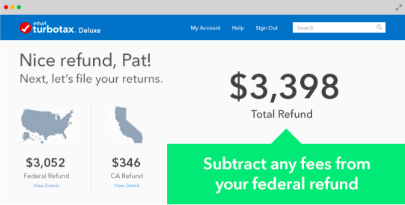 TurboTax's interface. Source: Turbotax.intuit.com