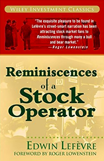 Reminiscences of a Stock Operator book