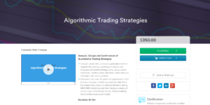 The Best Algorithmic Trading Courses You Can Take Online