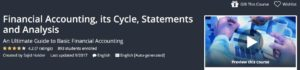 Financial Accounting, its Cycle, Statements, and Analysis by Udemy