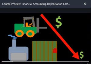 Financial Accounting – Deprecation Calculation & Fixed Assets by Udemy