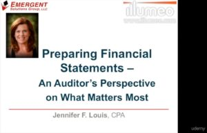 Preparing Financial Statements for Auditors by Udemy