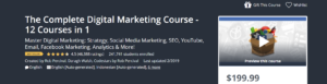 The Complete Digital Marketing Course by Udemy