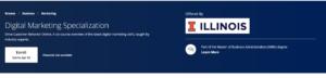 Digital Marketing Specialization by Coursera