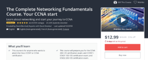 The Complete Networking Fundamentals Course by Udemy