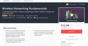 Wireless Networking Fundamentals by Udemy
