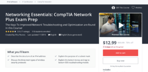 Networking Essentials: CompTIA Network Plus Exam Prep by Udemy