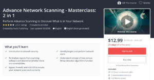 Advance Network Scanning - Masterclass: 2 in 1 by Udemy