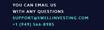 Swell customer service
