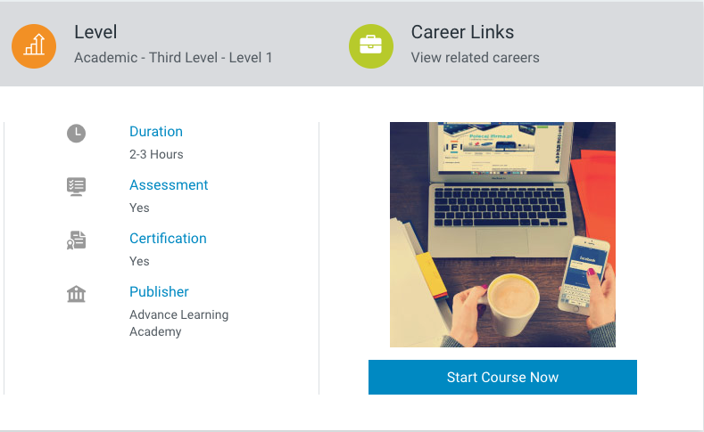 The Best Online Advertising Courses for 2020 • Benzinga Alison Course on
