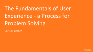 Fundamentals of User Experience-Process for Problem Solving by Udemy