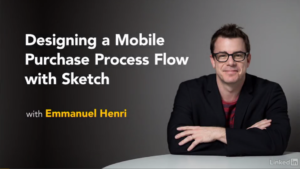 Designing a Mobile Purchase Process Flow with Sketch by Lynda