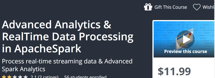 Advanced Analytics and RealTime Data Processing in ApacheSpark