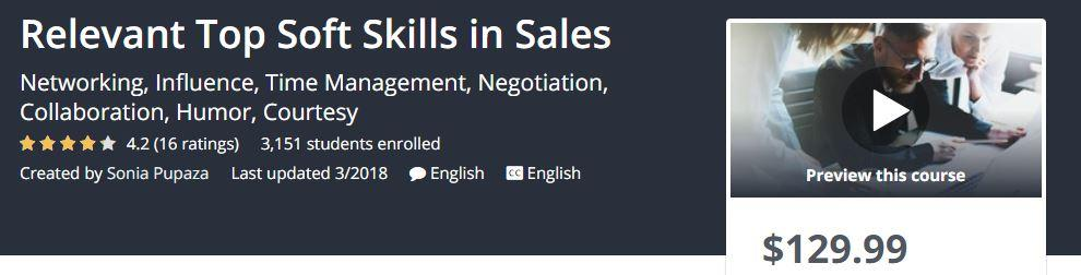 Relevant Top Soft Skills in Sales