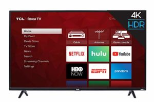 TCL 43S517 Roku Smart 4k TV