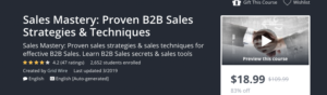 Sales Mastery: Proven B2B Sales Strategies and Techniques