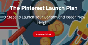 The Pinterest launch Plan