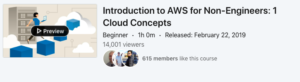 Introduction to AWS for Non-Engineers: 1 Cloud Concepts