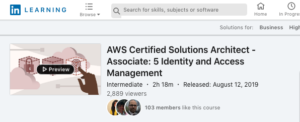 AWS Certified Solutions Architect — Associate: 5 Identity and Access Management