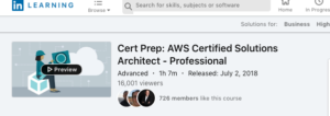 Cert Prep: AWS Certified Solutions Architect — Professional