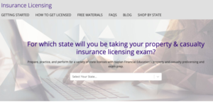 Property and Casualty Insurance Prelicensing Exam Prep by Kaplan Financial