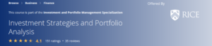 Investment Strategies and Portfolio Analysis