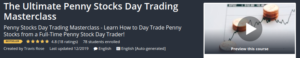 The Ultimate Penny Stocks Day Trading Masterclass