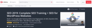 SEO 2019: Complete SEO Training + SEO for WordPress Websites