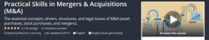 Practical Skills in Mergers & Acquisitions (M&A)