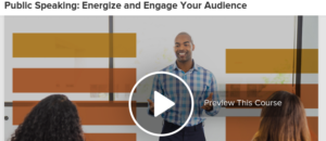 Public Speaking: Energize and Engage Your Audience