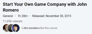 Start Your Own Game Company with John Romero