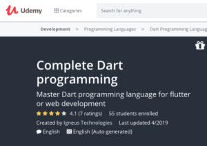 Dart and Flutter: The Complete Developer's Guide