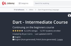 Dart — Intermediate Course