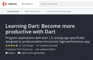 Learning Dart: Become More Productive with Dart