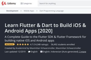 Learn Flutter and Dart to Build iOS and Android Apps