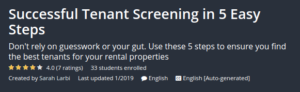 Successful Tenant Screening in 5 Easy Steps