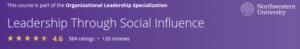 Leadership Through Social Influence