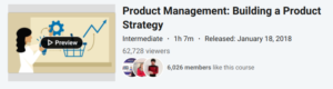 Product Management: Building a Product Strategy