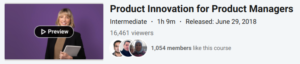 Product Innovation for Product Managers