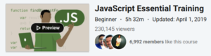 JavaScript Essential Training