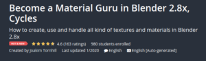Become a Material Guru in Blender 2.8x, Cycles