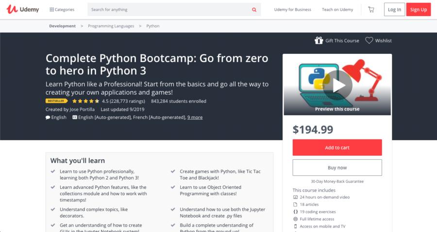Go From Zero To Hero In Python 3