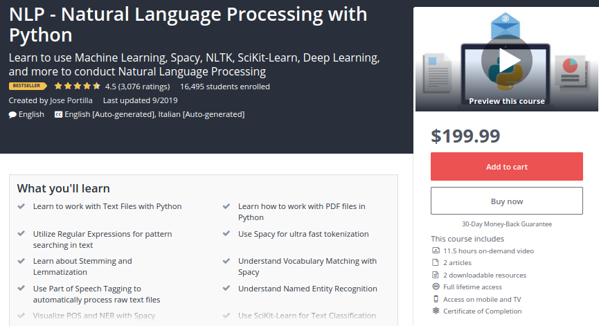 NLP - Natural Language Processing with Python