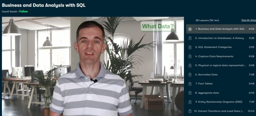 Business and Data Analysis with SQL