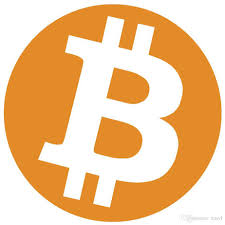 2020 30mm Diameter Bitcoin Logo Label Sticker, Orange Color ...