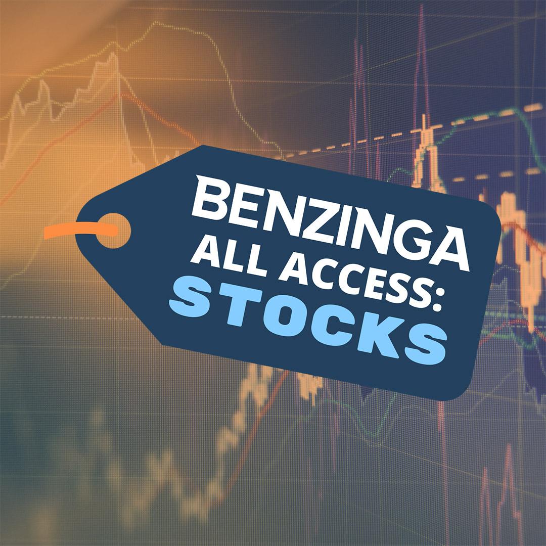 Benzinga All Access: Stocks