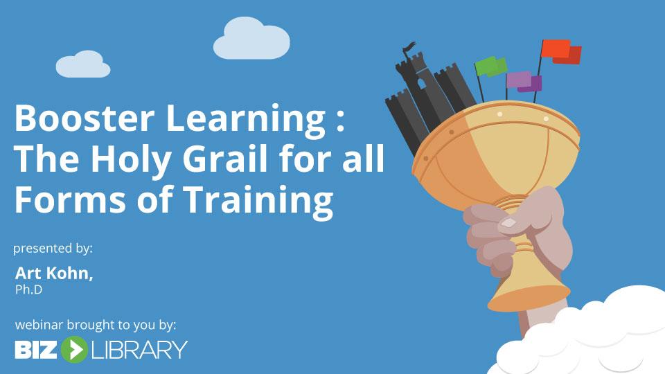 Booster Learning webinar