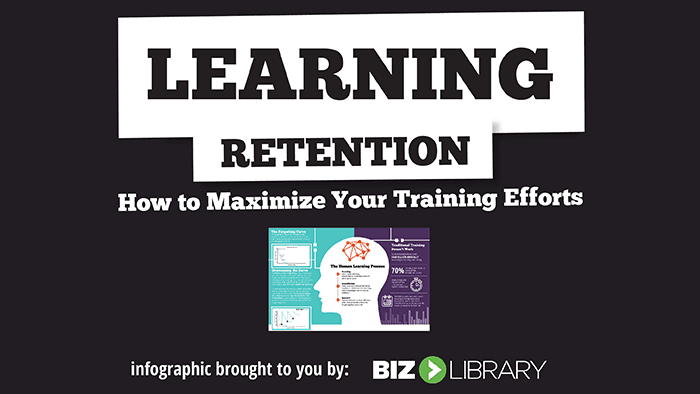 Learning Retention Infographic